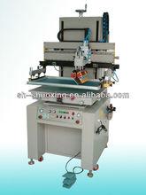 Motor-driven semi auto flat silk screen printing machine