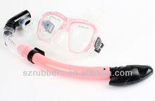 Scuba diving regulator mask and snorkel
