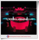 outdoor plastic furniture light/RGB PE bar counter