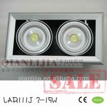 Zhongshan good life span led ar111 grille light 30w commercial lighting