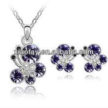 S040738 2013 Delicately amethyst Jewellery set