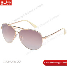 New Fashion Metal Polarized Glasses For Night Lighten Driving Glasses