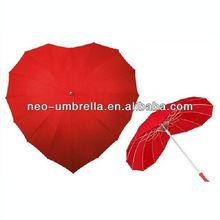 2013 first-class love heart shape fashion umbrella for rain