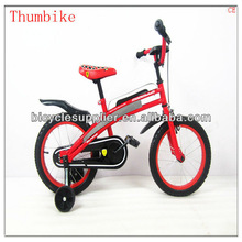 Fashion style 16 inch red color kids bike