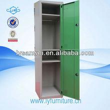 green color 2 doors gym locker