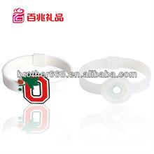hot sell silicone energy bracelets,pulsera de silicona customized shape /jelly silicone hand bracelet