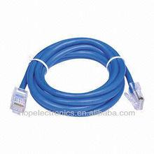 Ethernet CAT5e cabo, Conector RJ45 em cada lado de cabo, Todas as cores disponíveis