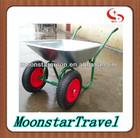 electric motor wheel wheelbarrow two wheel heavy duty wheelbarrow