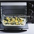 Venta al por mayor microondas y horno caja de seguridad del vidrio de pyrex placa caliente de la venta en alibaba