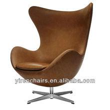 Arne Jacobsen Leather Egg Chair
