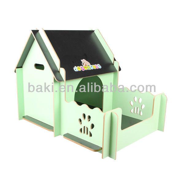 ラグジュアリー木製のペットハウス犬小屋熱い販売