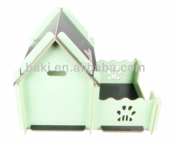 de luxe en bois pour animaux de compagnie maison chenil vente chaude