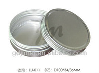 cosmetic tins with PP inner container