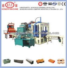 GUANGZHOU QT4-20C Vibrator Mode Paving and Interlocking Block Making Machine in China Phone:0086-13660127456