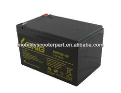 LONG Seal Lead Acid Battery 12V 12Ah Ebike Battery Electric Scooter Battery