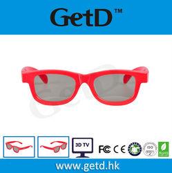 RealD angle LG /skyworth 3D TV Plastic Circular polarized 3D glasses