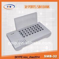 Smb32 SimBank Power Bank For Ferrari Mobile Phone SMB32 PBX Server Software With Auto Imei Change