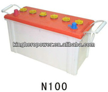 N100 Dry Charged Car Battery / Auto Battery