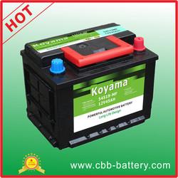 CBB car battery 12V45AH