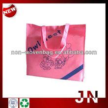 Shopping Bag Nonwoven Silkscreen Cloth Carrying Bag, Non-woven Shopping Bag With Handle