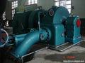 Pelton turbina hidrelétrica conjunto completo para a alta montanha 1250kw/1.25mw impulso/ação roda tipo