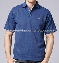 fashion plain cotton polo men T-shirt clothing