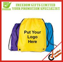 Portable and Customized Nylon Drawstring Bag