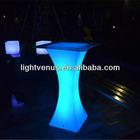 Night Club Lighting Illuminated LED Table