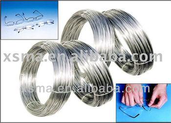Nitinol Shape Memory Alloy Flat Wire For Eyeglass Frames ...