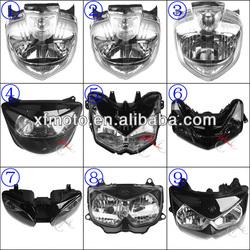 Motorcycle headlight for for Yamaha,Suzuki,Kawasaki,BMW, Honda, Ducati Honda