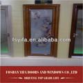 de aluminio de la sala de vidrio partición de acordeón balcón de la puerta plegable