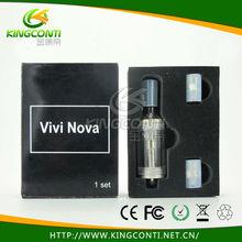 Huge vapor e cigarette vision vivi nova 2ml/3.5ml,vivi nova tank,clearomizer vivi nova rotatable in shenzhen