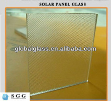 High quality low iron toughened solar penel glass suppliers with ISO CCC CE
