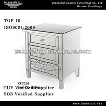 Hot sell modern bedroom corner table useful tall nightstand