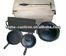 pre seasoned cast iron