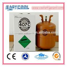 Ferramentas de refrigeração R407C refrigerante, Gás refrigerante R407C para geladeira caminhão