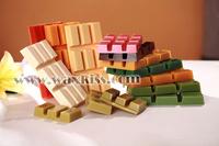 (Hot Products) Elastic and Sticky Block Brazilian hard depilatory wax