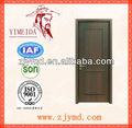 El núcleo sólido de madera de abedul puerta de chapa de madera, china puertas de madera maciza, sólida puerta de madera interior