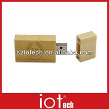 Custom Logo USB Wooden Promotional USB Pen Drive Disk