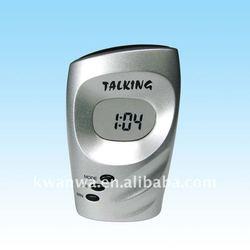 Latest Digital Talking alarm desk clock with LCD display