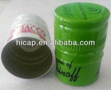 Rum Bottle Cap with Non-Refillable Pourer