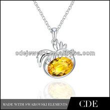P0298 chicken Chinese zodiac fashion necklace pendant
