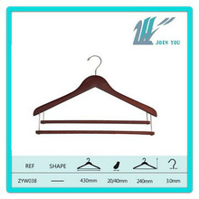 ZYW-043 brown,with additional rod,wooden plant hanger