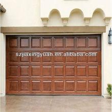 Exterior Wood Sectional Side Opening Garage Doors