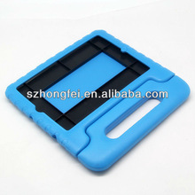 2013 hot sale china Factory direct sale best price waterproof and anti-stock EVA handle case for apple ipad OEM