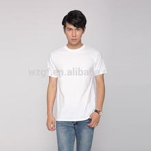 OEM mens t shirts promotional plain cotton white t-shirt
