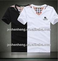 2013 factory summer tshirt korea men