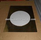 gold/silver foil cake boards