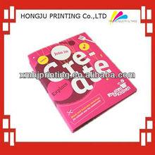 Fashion cheap book printing service,magazine printing