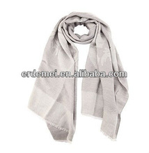 Promotional design polyester scarf jacquard